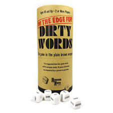 University Games Dirty Words The Game in the Plain Brown Wrapper Party Game