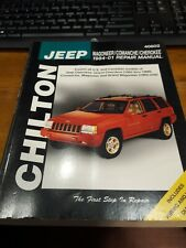 Jeep Wagoneer Comanche Cherokee Repair Manual 1984-1991 CH7939