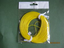 WF-5-F, 100FT YELLOW, PLUS 9' 4X TIPPET, Weight Forward Float Fly line,  SMOOTH