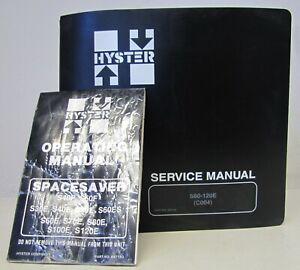 Hyster S60-120E 12K Forklift Service Manual