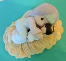 Precious Moments Mary Had A Little Lamb Nativity Figurine Chapel 850969