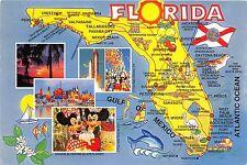 BG20825 map walt disney cartes geographiques  florida usa