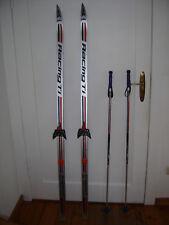 Langlaufskiset für Kinder, Ski 170 cm, Skistöcke 120 cm, Schuhe von Botas Gr.39