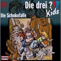 DIE DREI ??? KIDS - 027/DIE SCHOKOFALLE  CD+++++++++++++HÖRSPIEL+++++++++ NEU