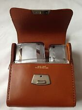 Vintage Real Hide 2 Brush Set In Original Box Mint Condition Made In England
