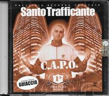 "SANTO TRAFFICANTE - CD RAP HIP HOP  "" C.A.P.O.  "" AMIR LUCIO BATTISTI MARRACASH"