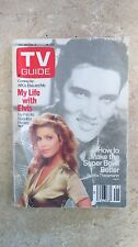 NICE!! TV Guide Jan. 30-Feb. 5 1988 Priscilla Presley, My Life with Elvis