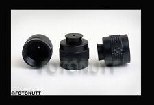 3 Paintball Hpa/Co2 Tank Thread Protector Cap Thread Savers Black