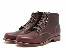 New Men's WOLVERINE 1000 Mile W00137 Cordovan Original Leather Boots MADE IN USA