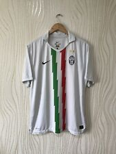 JUVENTUS 2010 2011 AWAY FOOTBALL SHIRT SOCCER JERSEY WHITE NIKE 382261-105