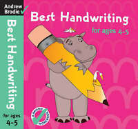 Best Handwriting for Ages 4-5 by Brodie, Andrew (Paperback book, 2007)
