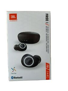 JBL FREE 2 II True Wireless In-Ear Bluetooth Kopfhörer schwarz - NEU & OVP