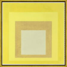 Josef Albers Oscillating A Giclee Canvas Print Paintings Poster Reproduction Cop