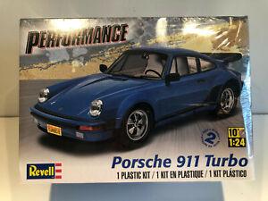 1/24 REVELL KIT Voiture Miniature PORSCHE 911 TURBO NEUF