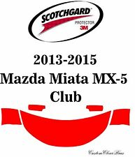 3M Scotchgard Paint Protection Film Pre-Cut 2013 2014 2015 Mazda Miata MX-5 Club
