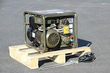 BOSCH 1,2KW 220V / 0,5kW 28V BUNDESWEHR STROM GENERATOR NOTSTROM STROMAGGREGAT