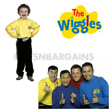 The Wiggles Costume Yellow Greg Boys Emma Girl S: 2-4 Child Kids Toddler Outfit