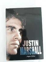 Justin Marshall by Angus Gillies - FIRST Edition SIGNED Hardcover - NZ All Black