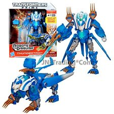 """Year 2012 Transformers RID Prime Series Voyager Class 7"""" Tall Figure THUNDERTRON"""