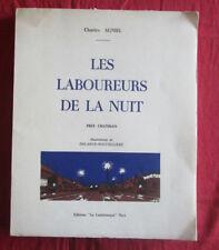 livre : les laboureurs de la nuit par Charles Agniel / Delarue-Nouvelliere 1965