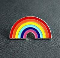 LGBT Rainbow NHS hope Enamel Lapel Pin Badge key workers Thank you 2021