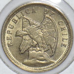 Chile 1928 5 Centavos Condor animal 291193 combine shipping