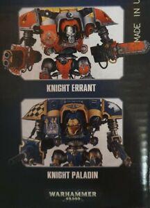 40k Imperial Knight Errant/ Paladin.