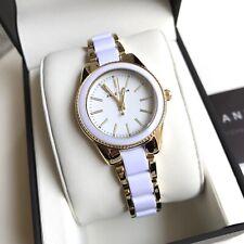 Anne Klein Watch * 3212WTGB White & Gold Steel for Women COD PayPal