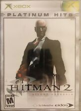 XBOX PLATINUM HITS HITMAN 2: SILENT ASSASSIN SEALED free shipping