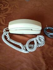 Bell Push Button Desk Top Phone Northwestern Off White Works Collectible TESTED