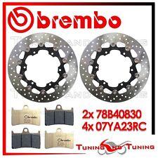 Dischi Freno Anteriore BREMBO+Pastiglie RC YAMAHA YZF R1 1000 2001 2002 2003 03