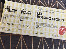 ticket concert Collector Rolling Stones Juin 1976 Lyon
