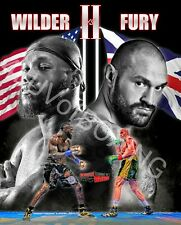 Deontay Wilder vs Tyson Fury 2 4LUVofBOXING New Boxing Poster