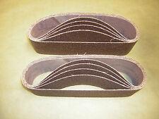 """Norton  Abrasive Sanding Belts 3"""" x 24"""" 36 Grit Belt Sander Belts Metalite 10 pk"""