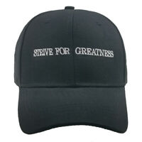 STRIVE FOR GREATNESS Embroidered Cotton Men Women Dad Hat  Snapback Caps