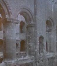 1910, Rochester Castle Ruins, Keep Interior, England, Magic Lantern Glass Slide