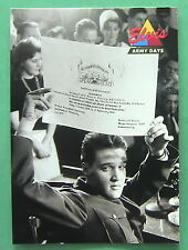 ELVIS PRESLEY,  1992 THE ELVIS COLLECTION, ARMY DAYS #32 CARD, OUT OF THE ARMY