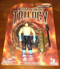 MORTAL KOMBAT TRILOGY JOHNNY CAGE TOY ISLAND 1996 FIGURE BRAND NEW ON CARD