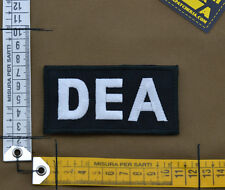 "Ricamata / Embroidered Patch ""DEA"" with VELCRO® brand hook"
