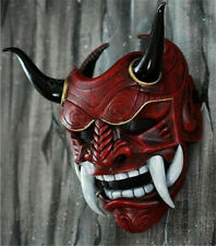 Cos Prop Japan Prajna Mask Hannya Noh Kabuki Devil Demon Oni Samurai Halloween