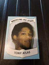 1982 Wrestling All Stars Tony Atlas Rookie rc wwe #25