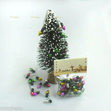 Momoko Blythe 1/6 Doll Miniature Mini Christmas Tree Light Bulb Metallic Color
