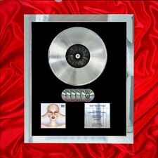 KATY PERRY WITNESS  MULTI (GOLD) CD PLATINUM DISC LP VINYL RECORD AWARD DISPLAY