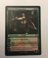 Magic the Gathering - FOIL Garruk Wildspeaker x 1 MTG Xbox Media Promo 2009