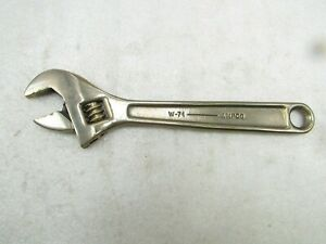 Brass or Beryllium adjustable wrench by Ampco