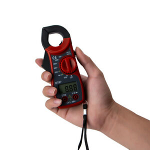 MT87 Digital Electric Clamp Meter Multimeter AC DC Current Volt Amp Tester XG