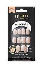 Manicare Glam Nail - French Pink New Oval Shape