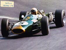 JACK BRABHAM FI CHAMPION 1966 Repco V8 BT20 2ND PLACE  8 X10 PHOTO 7