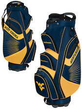 Team Effort The Bucket II Cooler NCAA Collegiate Golf Cart Bag West Virginia