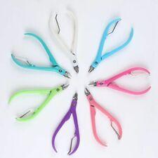 Multi-colored Nail Cuticle Scissors Toenail Nipper Trimming Clipper Cutter Plier